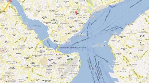 Le quartier de Taksim est situé bien loin du centre historique d'Istanbul. DR