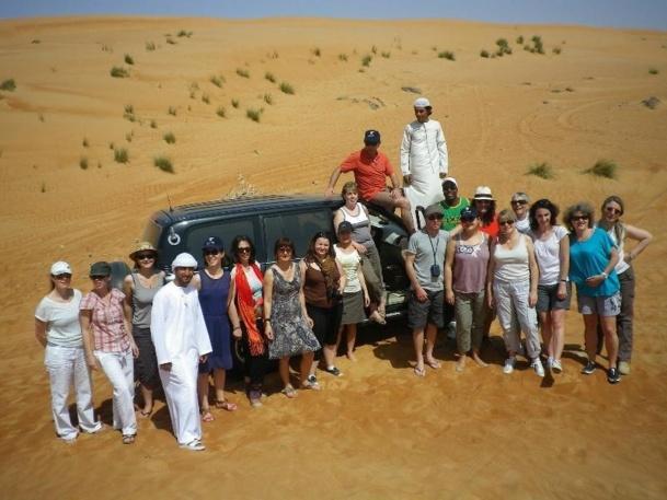 Les 15 agents du réseau Havas Voyages partis à la découverte du Sultanat d'Oman - DR : Oman Air