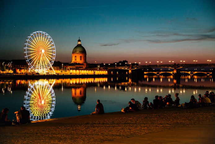 Quai de la Daurade © Office de tourisme de Toulouse