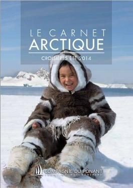 Le Carnet de Voyage Arctique 2014 de la Compagnie du Ponant intègre plusieurs nouveautés - DR