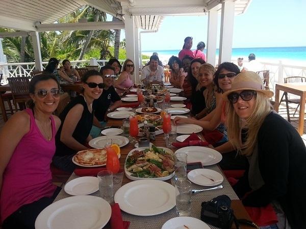 Du 16 au 22 mai 2013, les dix agents de voyages invités ont découvert 5 îles de l'archipel des Bahamas - Photo DR