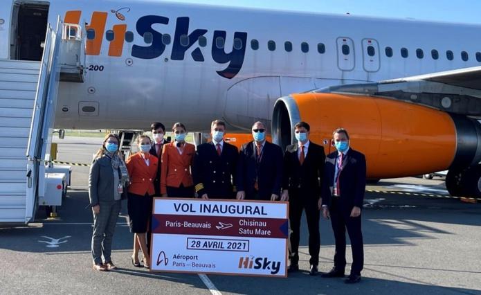 HiSky desservira Satu Mare (Roumanie) et Chisinau (Moldavie) depuis l'aéroport de Beauvais - DR