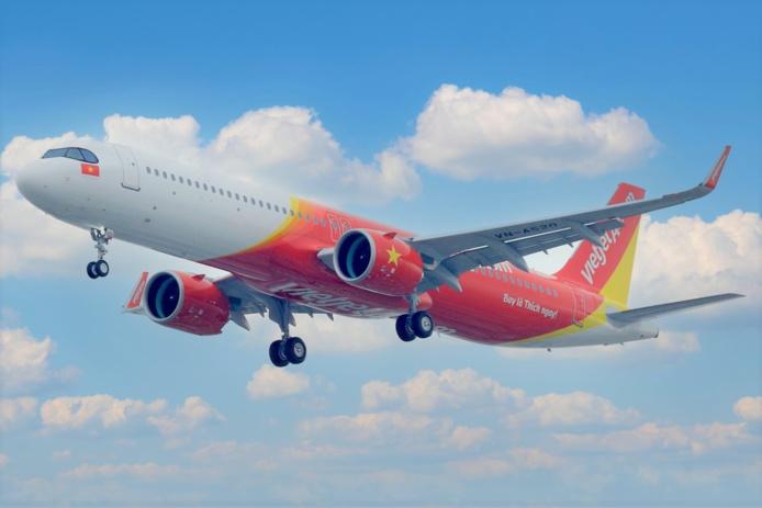 Les vols VJ sont vendables en GDS grâce à un pseudo-partage de code, tous les vols opérés par VietjetAir sont distribués sous le code A1 (numéros de vols de A1 2000 à A1 2999) et vendables sur la plaque d'APG Airlines (GP-275).  - DR VietjetAir
