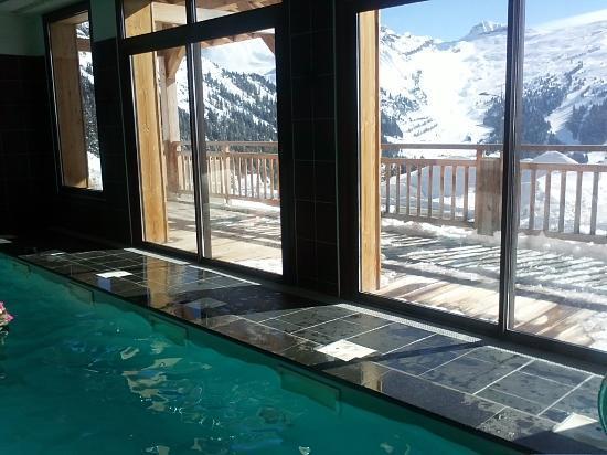 La résidence Odalys Prestige Le refuge du Golf, à Flaine, propose un spa dont les équipements n'ont rien à envier aux meilleurs hôtels-resorts. ©DR. Odalys.