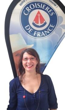 Audrey Richard, RH de Croisières de France. DR