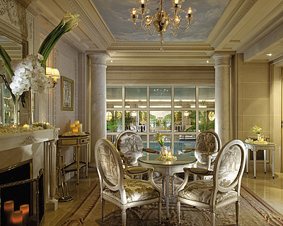 Paris j 39 ai test le spa du four seasons hotel george v for Hotel george v jardins