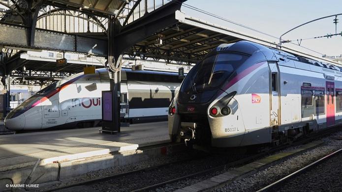 Dès le 7 mai, l'offre grande vitesse (TGV INOUI, OUIGO) atteindra 8 TGV sur 10 en moyenne, avec des renforts prévus les week-ends - DR : SNCF, Maxime Huriez