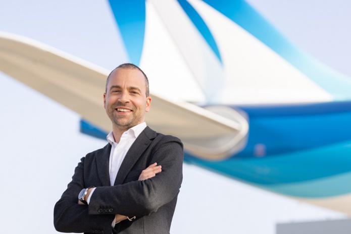 Enea Fracassi directeur opérations de la compagnie aérienne Corsair - Crédit Anthony Guerra