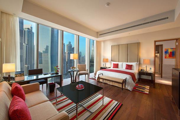 L'Oberoi Dubaï est un hôtel de luxe contemporain, doté de 252 chambres et suites - DR : Oberoi