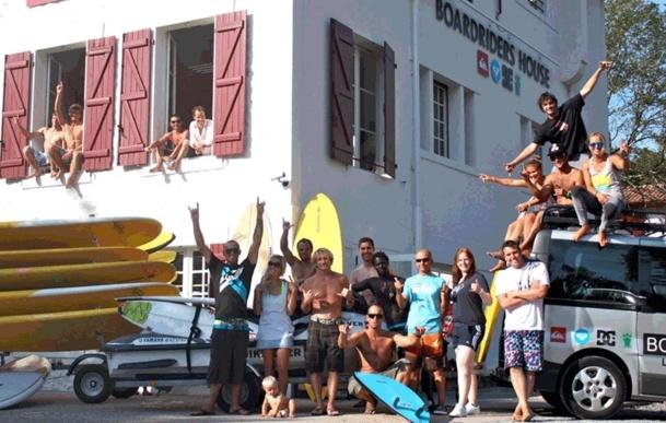 Le Surf Camp de Quiksilver est situé à Hossegor, tout comme le siège Europe du Groupe. - DR