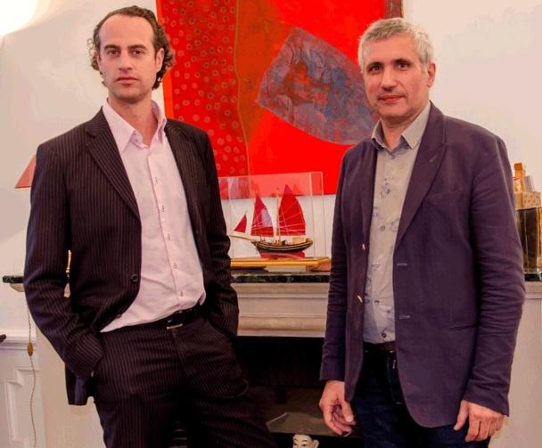 Guillaume Linton Directeur Commercial & Développement Asia et Michel BENSADOUN Directeur associé La Fonderie