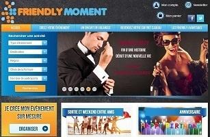 FriendlyMoment.com est une solution pour revendre ses coffrets cadeaux utilisables ou non à prix coûtant - Capture d'écran