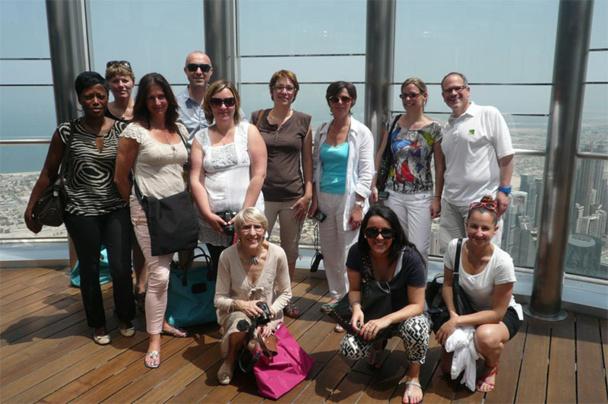 Beachcomber Tours : 10 agents de voyages à la découverte de Dubaï
