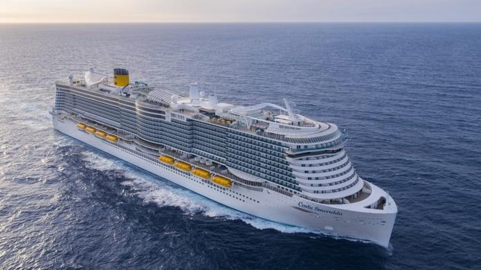A partir du 4 juillet, le Costa Smeralda prévoit de rejoindre Marseille pour embarquer des passagers. - DR Costa