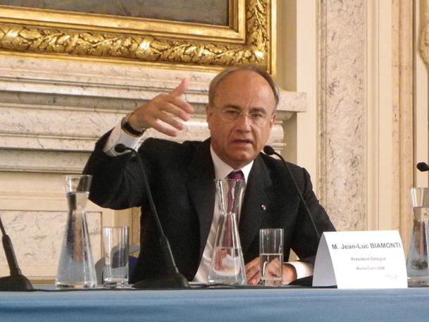 """""""C'est le plus mauvais exercice de mémoire de Biamonti"""", constate Jean-Luc Biamonti, président de la SBM, en analysant les résultats de l'exercice 2012-2013 - DR : M.B."""