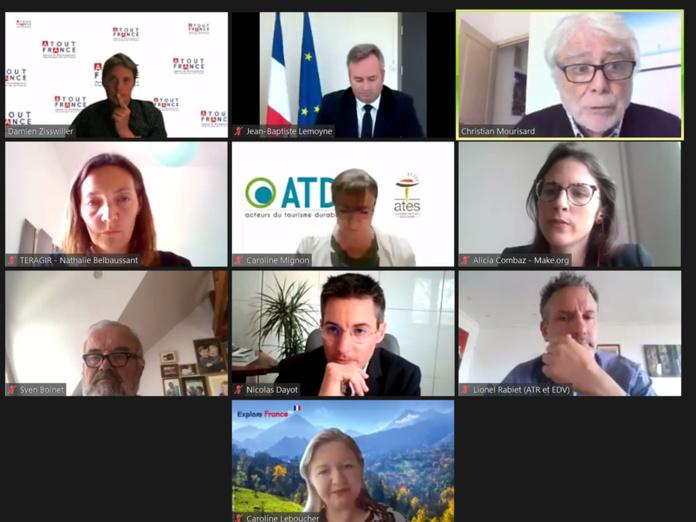 Les partenaires de la consultation citoyenne sur le tourisme durable - DR
