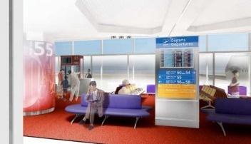 Le satellite 5 du Terminal 1 de l'aéroport CDG offre plus de place aux passagers - DR