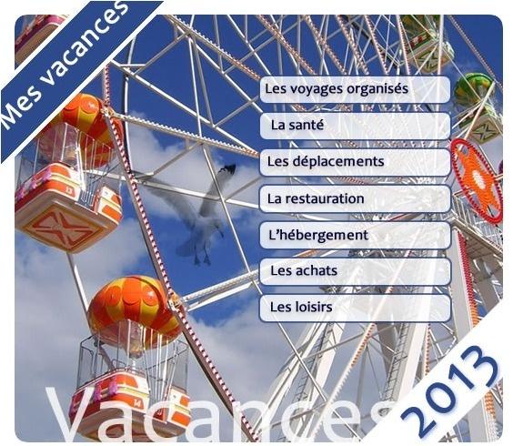 Le Guide des Vacances 2013 de la DGCCRF est disponible gratuitement en ligne - DR
