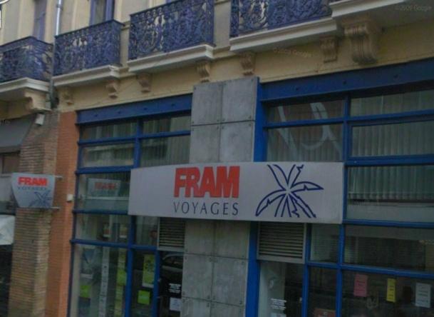 Les dirigeants des réseaux d'agences de voyages en France sont conscients que, si FRAM tombe, ils seront nombreux à être entraînés dans la chute du tour-opérateur - Google Street View