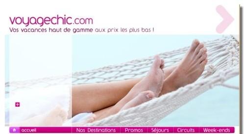 Un an après son lancement www.voyagechic.com a atteint ses premiers objectifs