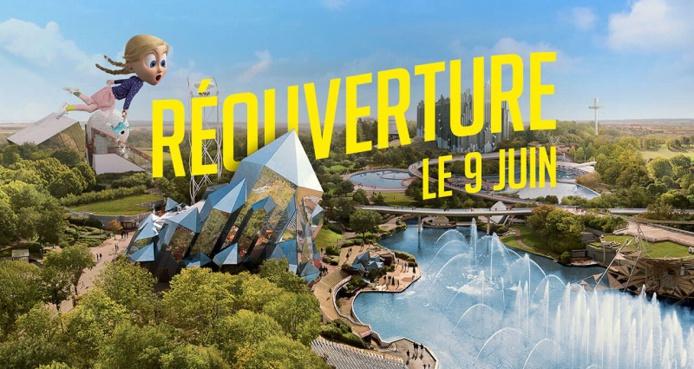 Le Futuroscope à Poitiers ouvrira ses portes le 9 juin 2021 - DR