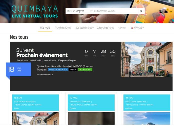 Le site de Quimbaya dédié aux visites virtuelles - DR