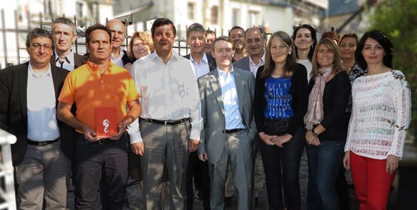 Le nouveau Conseil d'administration de Selectour Afat - DR : Selectour Afat