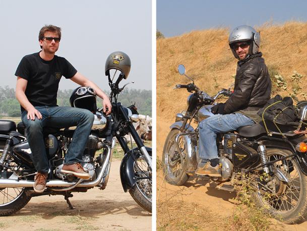 Vintage Rides, basée en Inde, a été créée par Alexandre Zurcher et Alexandre Le Beuan en 2007 - DR : Vintage Rides