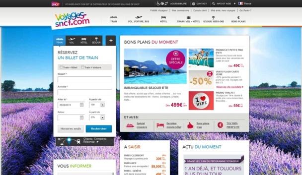 Voyages-Sncf.com décide de se diversifier et se lance dans la distribution d'activités culturelles - Capture d'écran