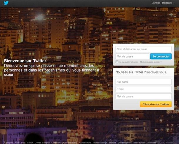 En octobre 2012, Twitter revendiquait plus de 200 millions d'utilisateurs actifs et 400 millions de tweets par jour dans le monde - Capture d'écran