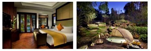 L'Angsana Tenchong dispose de 28 suites avec balcons et 9 villas - Photos DR