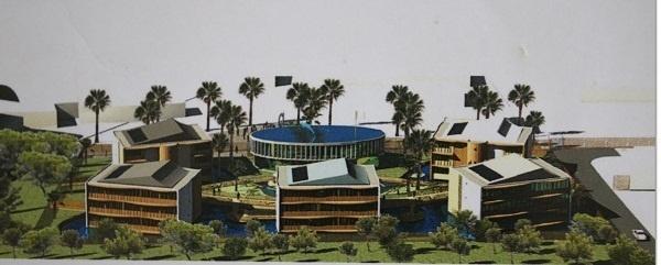 Marineland va dépenser 12 millions € pour la construction d'un hôtel 3 hôtels avec une centaine de chambres - DR