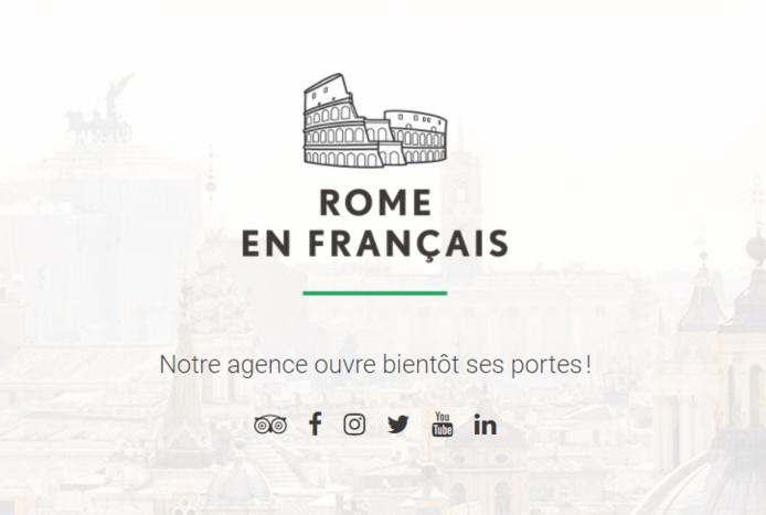 Voyage en français lance Rome en français - DR