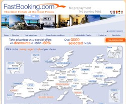FastBooking : volume d'affaires en hausse de 67% en 2006