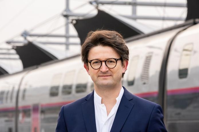 Matthieu Béjot, directeur de la communication et de la marque du groupe SNCF - DR