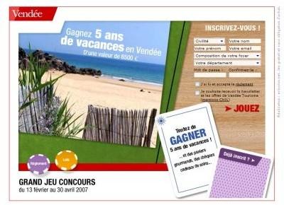 Vendée : 5 ans de vacances à gagner !