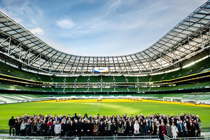 Séminaire d'entreprise avec toutes les équipes, à Croke Park, Dublin