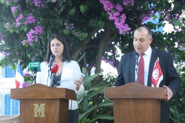 Sylvie Pinel et Jamel Gamra, en Tunisie - DR : ONTT