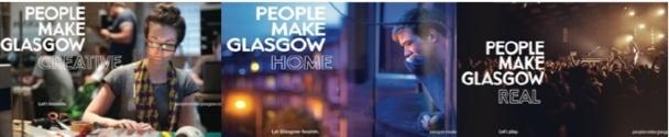 Plus de 1 500 personnes ont participé à la consultation publique pour la création de la nouvelle marque de Glasgow - DR