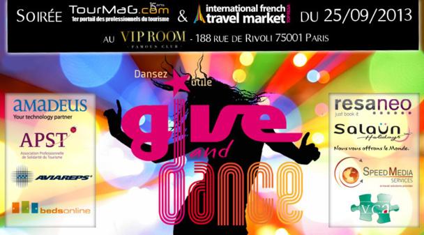 Professionnels du tourisme : vus êtes invités à la soirée caritative TourMaG et IFTM Top Resa, le 25 septembre au VIP Room !