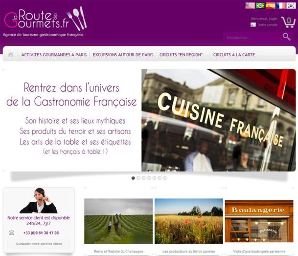 La route des Gourmets est la première agence réceptive française en ligne dédiée à 100% au tourisme culinaire de France.