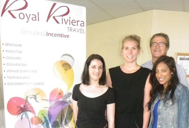 L'agence Royal Riviera Travel est spécialisée dans le tourisme d'affaires pour le compte d'entreprises, au plan national voire international - DR
