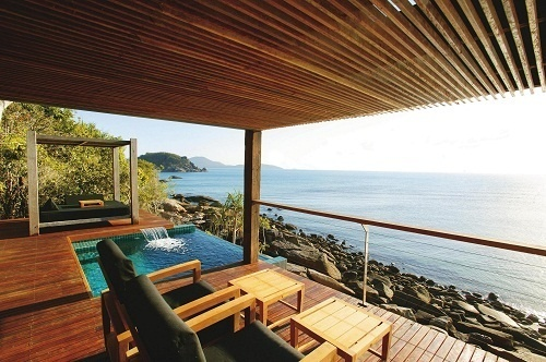 Le complexe accueille 17 villas de luxe - Photo DR