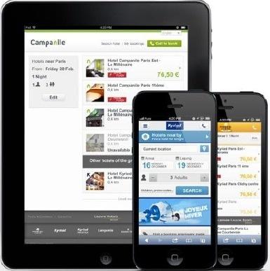 Le contenu des sites mobiles du groupe s'adapte automatiquement à l'écran utilisé pour les visiter - DR