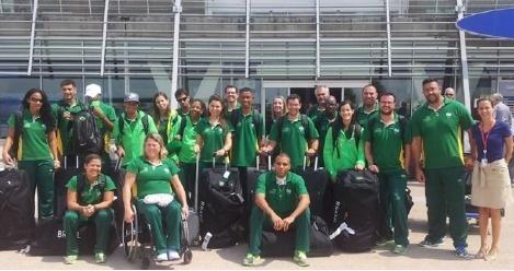 Près de 1 200 athlètes de 100 pays différents passeront par Lyon-Saint Exupéry jusqu'au 29 juillet 2013 - Photo DR