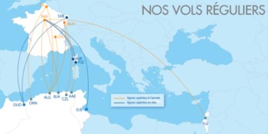 Le réseau ASL s'enrichit avec des vols vers la Tunisie : Paris-CDG - Djerba - DR