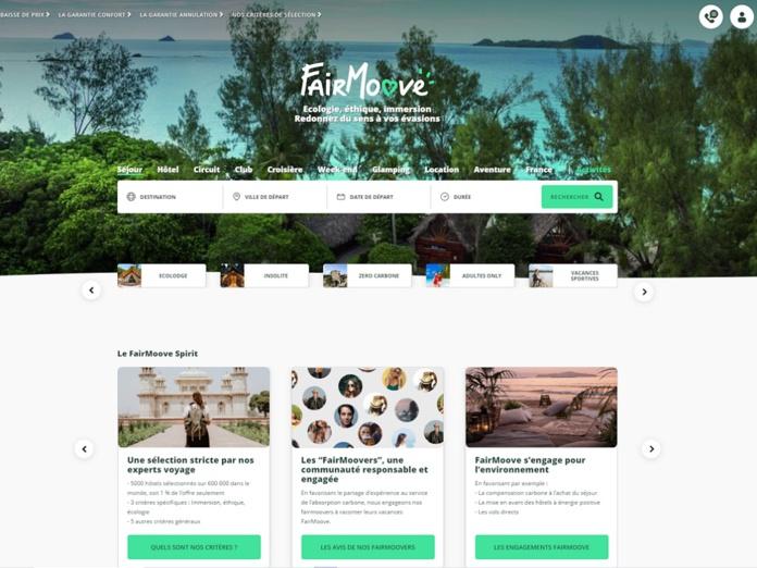 FairMoove se veut une plateforme DNVB (digitally natives vertical brands) autour du loisir et de l'écologie - Crédit photo : FairMoove