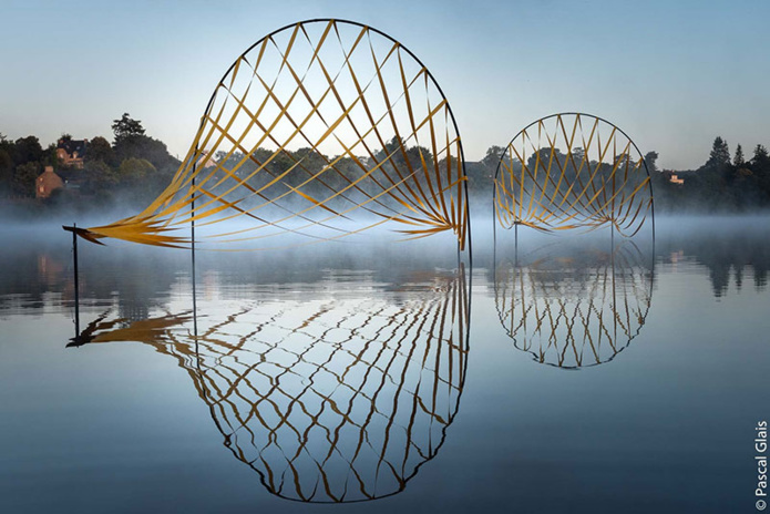 Etangs d'art - De 2 choses lune © Pascal Glais