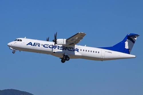Air Corsica reliera Dole Jura et Bastia par une rotation hebdomadaire pendant tout l'été 2013 - Photo DR