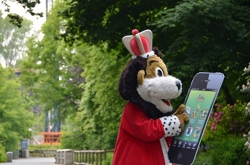 L'application de Bellewaerde Park est disponible gratuitement sur App Store et Google Play - Photo DR